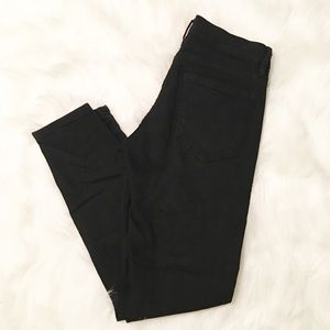 BDG Urban Outfitters black twig mid rise jeans 27